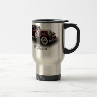 Duesenberg (Duesy) Model J Classic Car Travel Mug