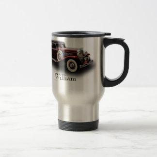 Duesenberg (Duesy) Model J Classic Car Travel Mug