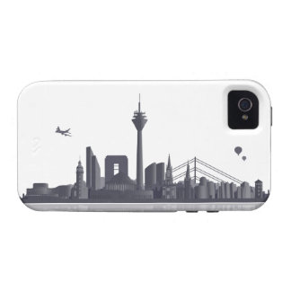 Duesseldorf skyline iPhone 4/4s sleeve/Case iPhone 4/4S Case