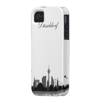Duesseldorf skyline iPhone 4/4s sleeve/Case Case-Mate iPhone 4 Cases