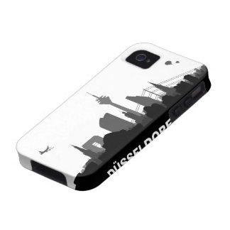 Duesseldorf skyline iPhone 4/4s sleeve/Case iPhone 4/4S Covers