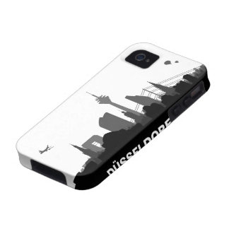 Duesseldorf skyline iPhone 4/4s sleeve/Case iPhone 4/4S Covers