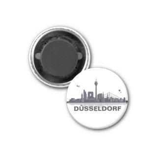 Duesseldorf skyline refrigerator magnet
