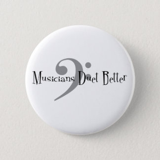 Duet (Bass) Round Button
