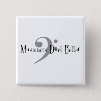 Duet (Bass) Square Button