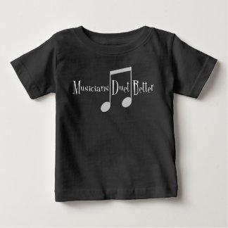 Duet (Notes) Baby Dark Jersey T-Shirt
