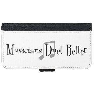 Duet (Notes) iPhone & Samsung Wallet Case