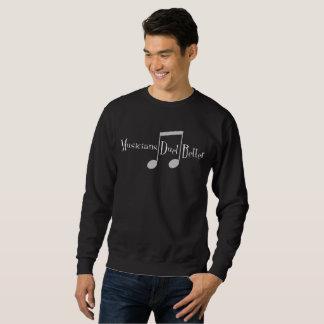 Duet (Notes) Men's Basic Dark Sweatshirt