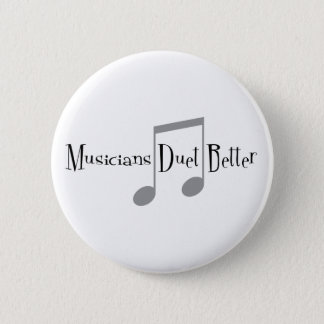 Duet (Notes) Round Button