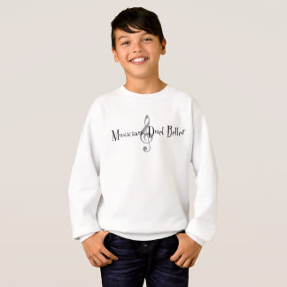 Duet (Treble) Boy's Sweatshirt
