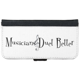 Duet (Treble) iPhone & Samsung Wallet Case