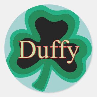 Duffy Family Round Sticker