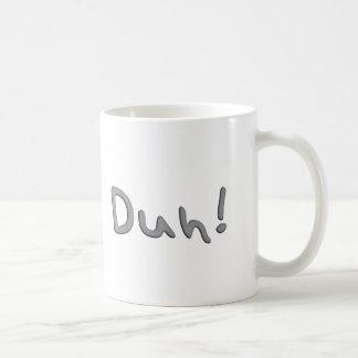 Duh Basic White Mug