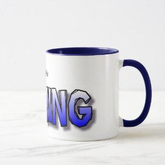 (duh) WINNING Mug - blue