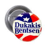 Dukakis for President - Button