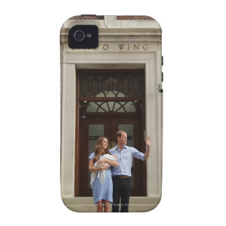 Duke & Duchess Of Cambridge at Lindo Wing 2 iPhone 4/4S Cases