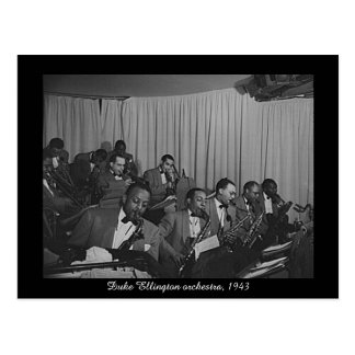 Duke Ellington orchestra, 1943 Postcard