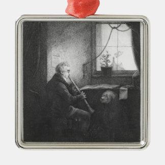 Duke Esterhazy Playing the Clarinet, 1809 Christmas Ornament
