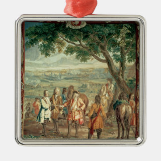 Duke of Marlborough at Fall of Lille in December Christmas Ornament