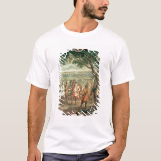Duke of Marlborough at Fall of Lille in December T-Shirt