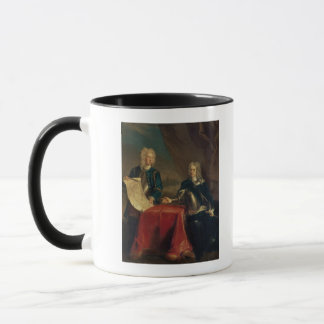 Duke of Marlborough discussing plans Mug
