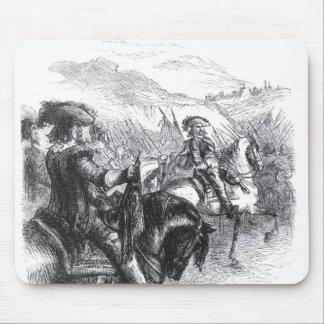 Duke of Monmouth  Advancing on Taunton Mouse Mat