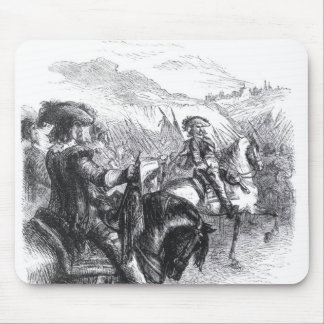 Duke of Monmouth  Advancing on Taunton Mouse Pad