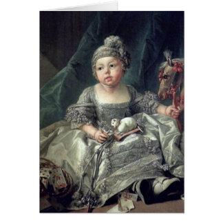 Duke Of Montpensier As Child By Francois Boucher Card
