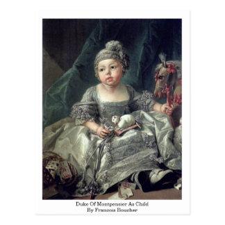 Duke Of Montpensier As Child By Francois Boucher Postcard