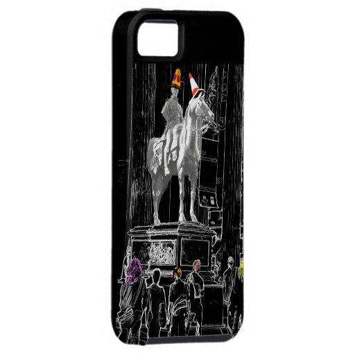 Duke of Wellington at Glasgow GOMA iPhone Case iPhone 5 Cases