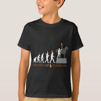 Duke of Wellington's Glasgow Traffic Cone Hat T-Shirt