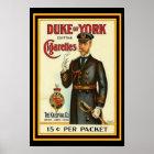 Duke of York Cigarette Poster 13 x 19