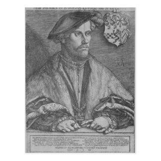 Duke Wilhelm V of Cleve, 1540 Postcard