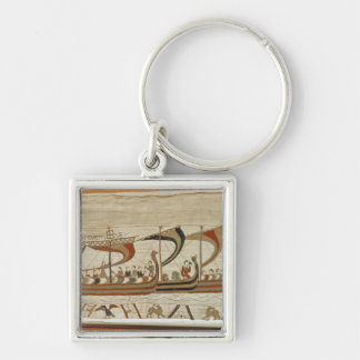Duke William and his fleet cross the Channel Key Ring