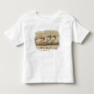 Duke William and his fleet cross the Channel Toddler T-Shirt