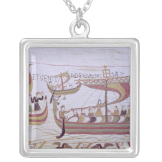 Duke William and his Fleet Silver Plated Necklace