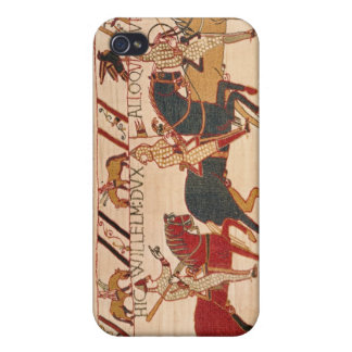 Duke William exhorts his troops iPhone 4 Cover