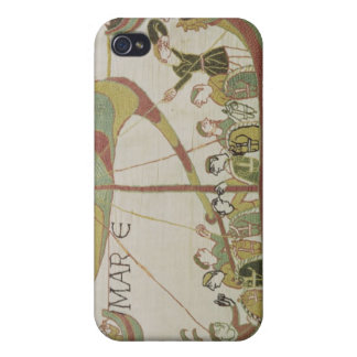 Duke William of Normandy crosses the sea iPhone 4 Covers