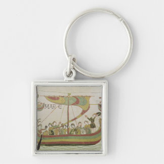 Duke William of Normandy crosses the sea Key Ring