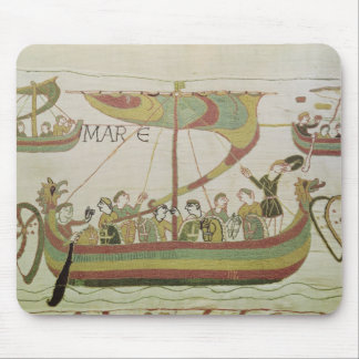 Duke William of Normandy crosses the sea Mouse Mat