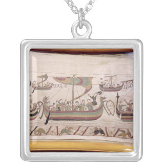 Duke William of Normandy Silver Plated Necklace