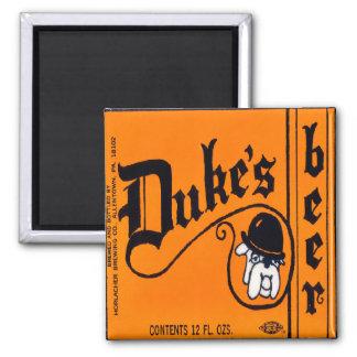 Duke's Beer Magnet