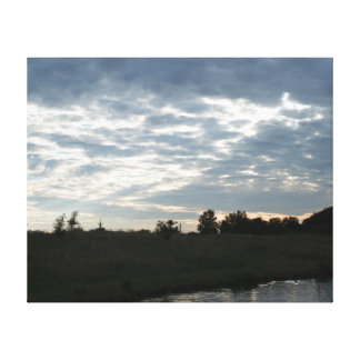 Duke's Pond Canvas Print