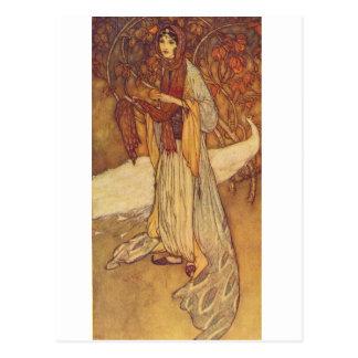 Dulac's Arabian Nights Postcard