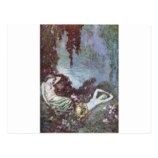 Dulac's Edgar Allan Poe Postcard