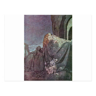 Dulac's Edgar Allan Poe Post Cards