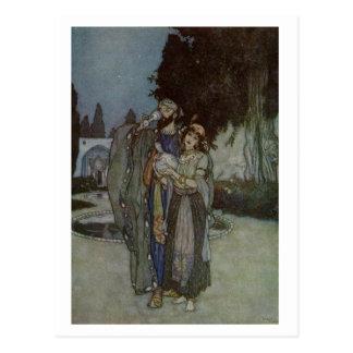 Dulac's Rubaiyat Post Card