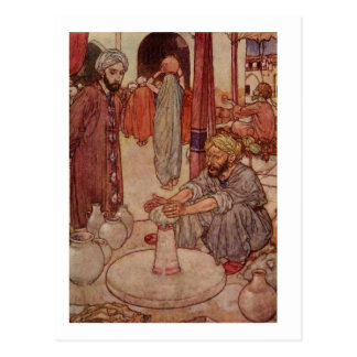 Dulac's Rubaiyat Postcards
