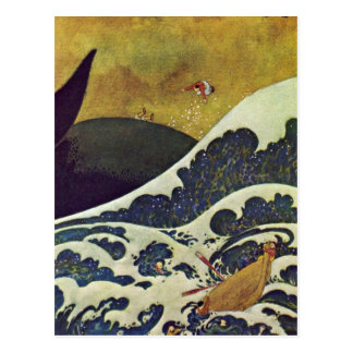 Dulac's Sindbad the Sailor 1907 Post Card