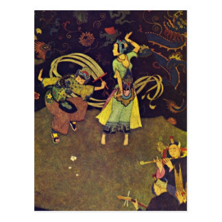 Dulac's Sindbad the Sailor 1907 Postcard
